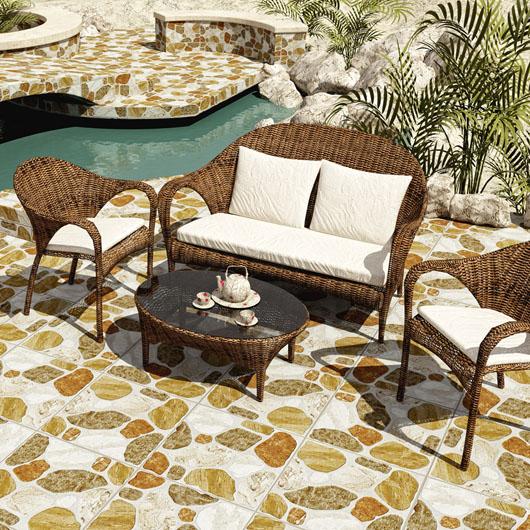 Image description grupo flores for Ceramicas patios exteriores